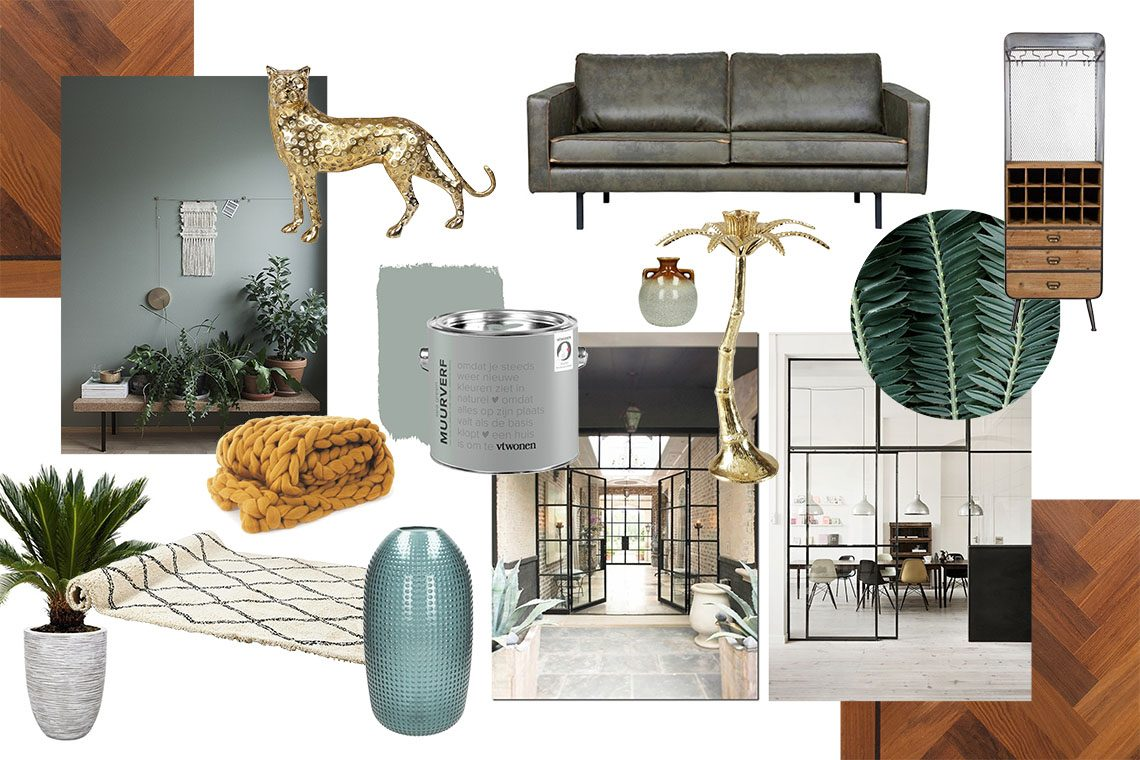 moodboard urban jungle